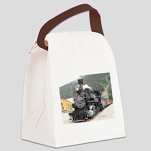 Steam train engine Silverton, Col Canvas Lunch Bag