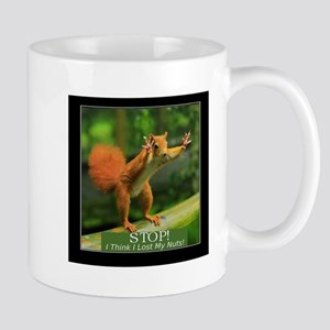 Squirrel Lost His Nuts Mugs