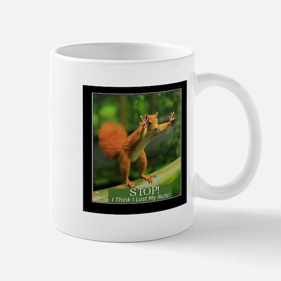 Squirrel Lost His Nuts Mugs
