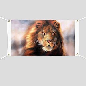 Lion Forever Wind Banner
