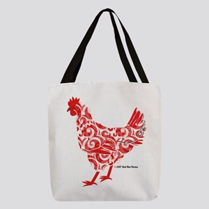 Red Hen Polyester Tote Bag