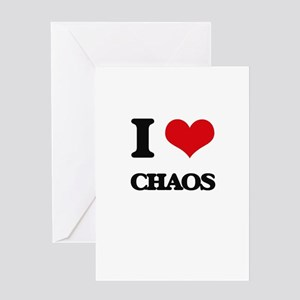 I love Chaos Greeting Cards