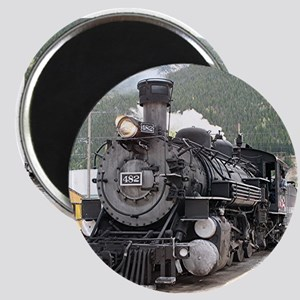 Steam train engine Silverton, Colorado, US Magnets