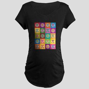 Pop Art Pi Maternity T-Shirt