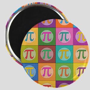 Pop Art Pi Magnets