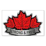 SAFE Logo 2010 v8 no CANADA Sticker