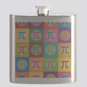 Pop Art Pi Flask