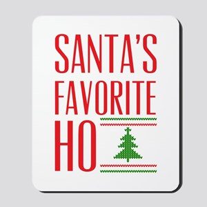 Santa's Favorite Mousepad
