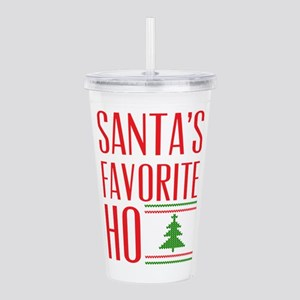 Santa's Favorite Acrylic Double-wall Tumbler