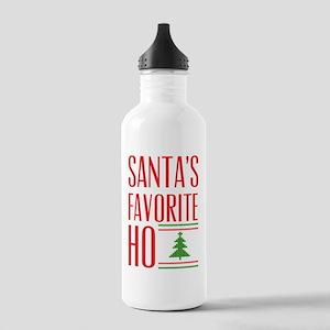Santa's Favorite Sports Water Bottle