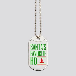 Santa's Favorite Dog Tags