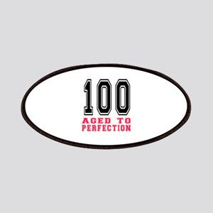 100 Aged To Perfection Birthday Designs Patches