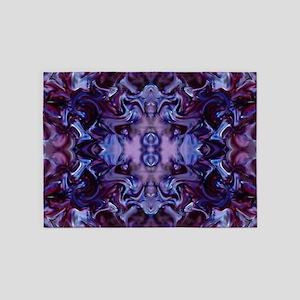 Deep Purple 5'x7'Area Rug