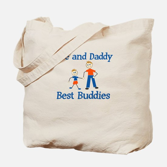 Jace & Daddy - Best Buddies Tote Bag