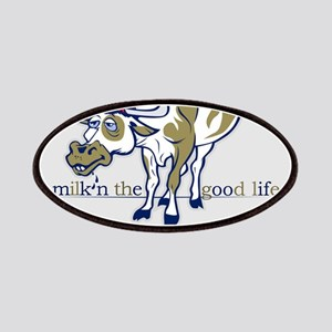 Cow Milking the Good Life Patches