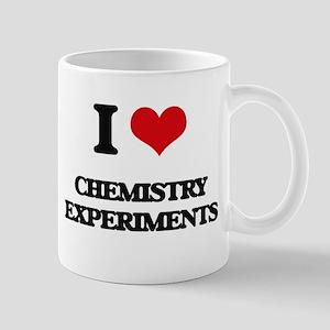 I love Chemistry Experiments Mugs