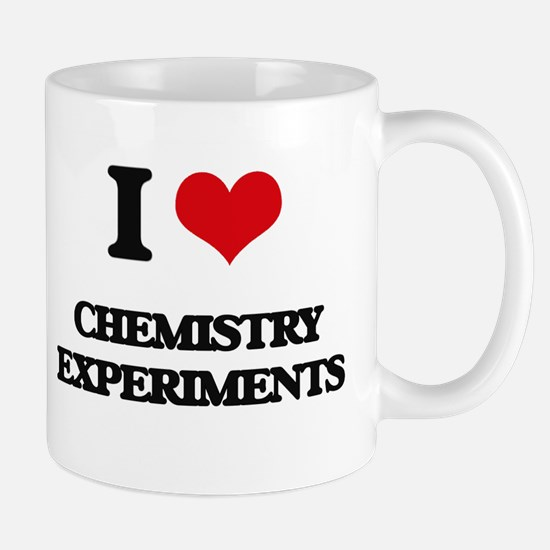I love Chemistry Experiments Mugs