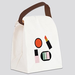 Cosmetics Canvas Lunch Bag