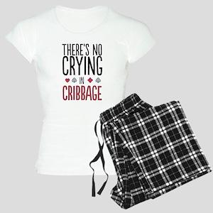No Crying In Cribbage Pajamas
