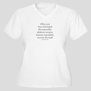 holmes eliminated Plus Size T-Shirt