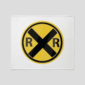 RR Crossing Throw Blanket
