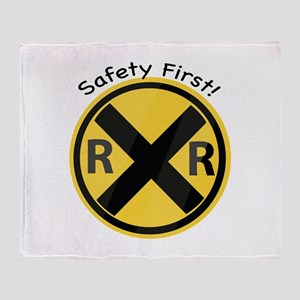 Safety First Throw Blanket