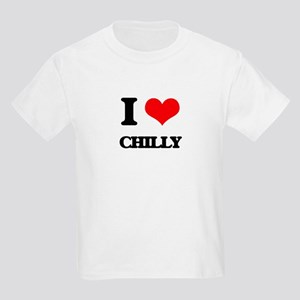 I love Chilly T-Shirt