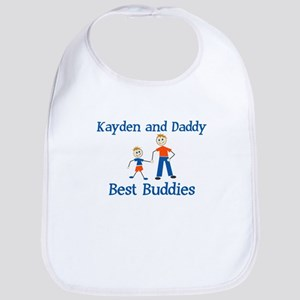 Kayden & Daddy - Best Buddies Bib