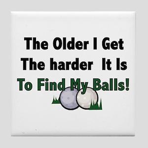 Resden Golf Ball Tile Coaster