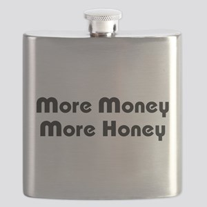 More Money More Honey Flask