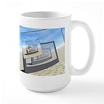 Surreal Monitors Infinite Loop Mugs