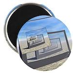 Surreal Monitors Infinite Loop Magnets