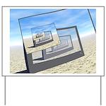Surreal Monitors Infinite Loop Yard Sign