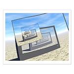 Surreal Monitors Infinite Loop Posters