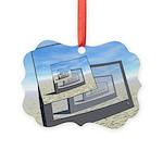 Surreal Monitors Infinite Loop Ornament