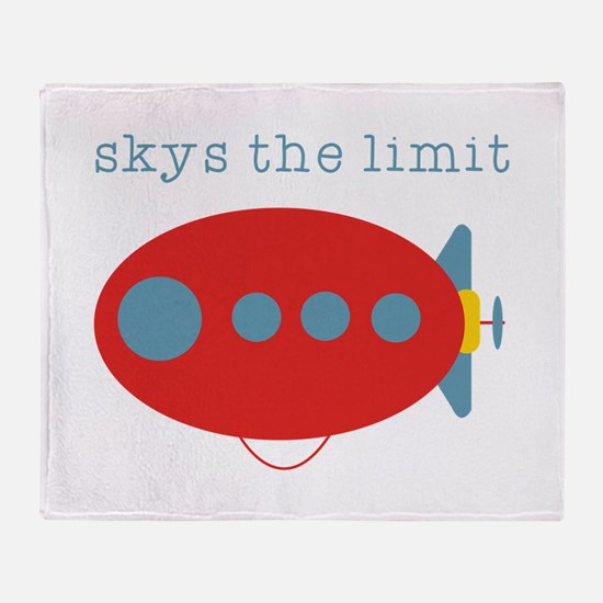 Skys The Limit Throw Blanket