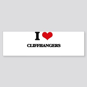 I love Cliffhangers Bumper Sticker