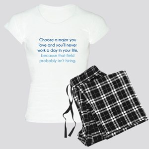 Choose A Major You Love Women's Light Pajamas