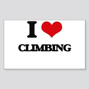 I love Climbing Sticker