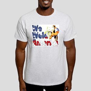 We Weld America Ash Grey T-Shirt