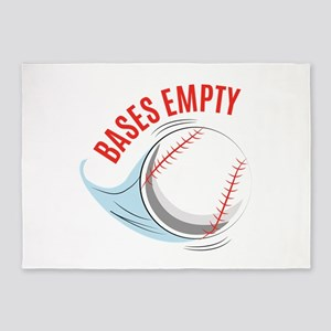 Bases Empty 5'x7'Area Rug