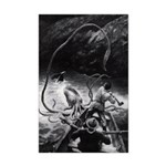 Attack of the Giant Squid 11x17 Print