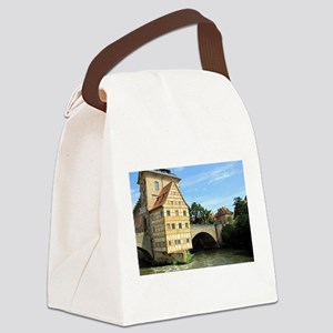 Old Town Hall, Bamberg, Germany, Canvas Lunch Bag