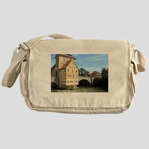 Old Town Hall, Bamberg, Germany, Eur Messenger Bag