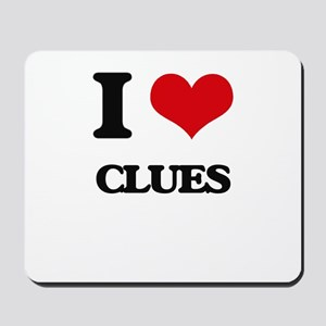 I love Clues Mousepad