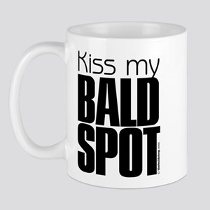 Kiss my BALD SPOT Mug