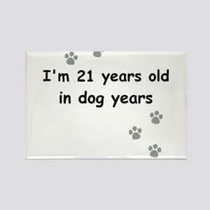 21 dog years 3 Magnets