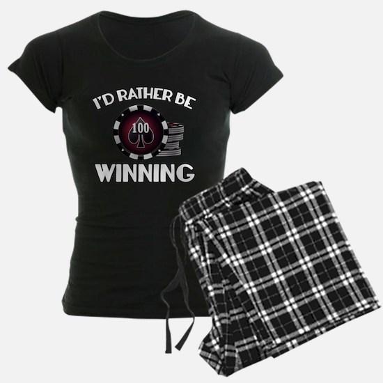 I'd Rather Be Winning Pajamas
