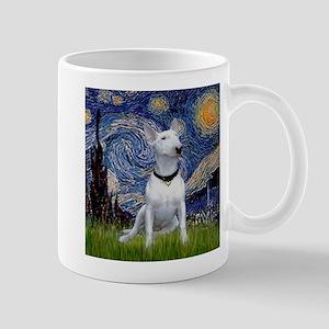 Starry Night & Bull Terrier Mug