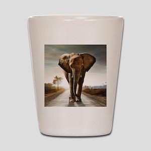 The Elephant Shot Glass